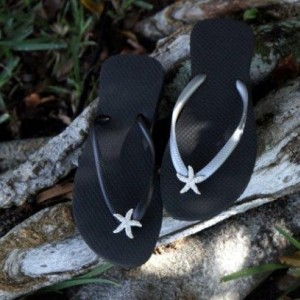 Womens Embellished Flip flop