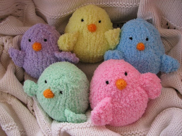 Chick -  Stuffed Animal Toy - Colors