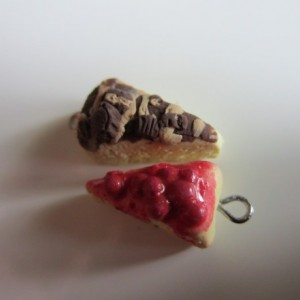 Miniature Cheesecake Charm Set (Cherry & Peanut Butter Cup)