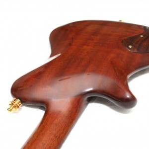 (SOLD) Anu ANAN Figured Walnut Custom Hollow Body Guitar