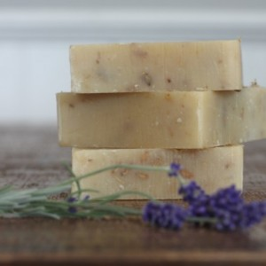Lavender + Lime Goat Milk Soap