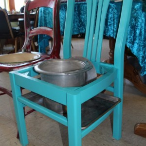 Garden and Porch Chair/Bench Art