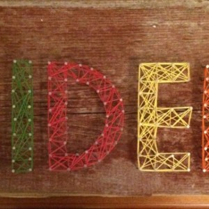 String Art - Name Pieces - Boy Themed