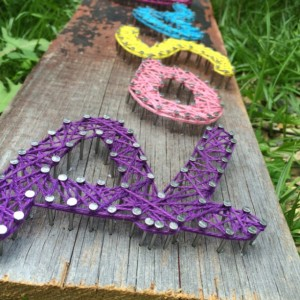 String Art - Name Pieces - Girl Themed