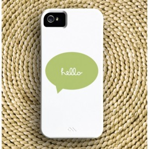 Hello Talk Bubble Barely-There iPhone Case