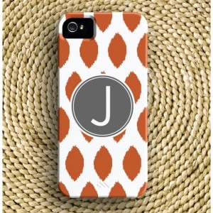Ikat Barely-There iPhone Case + Optional Monogram