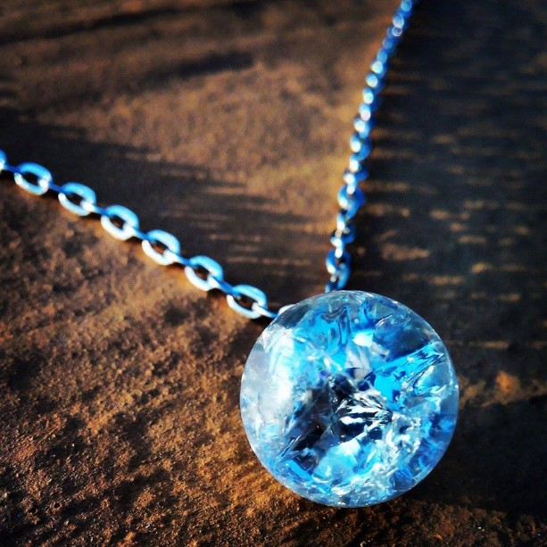 Shattered marble necklace aftcra for How to make marble jewelry