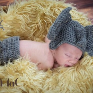 baby elephant hat and diaper cover newborn photography prop
