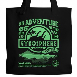 Jurassic World Gyrosphere Canvas Tote