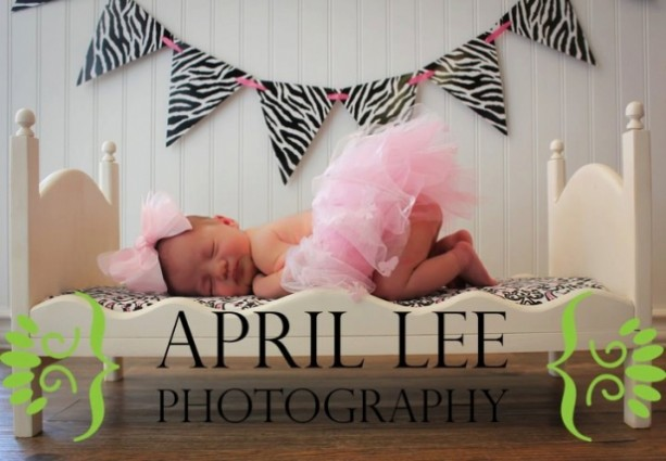 DIY Ready-to-Distress Newborn Infant Photography Posing Bed Prop - Large Whimsical Doll Furniture