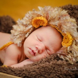 ad64738068a ... newborn baby lion hat photography prop ...