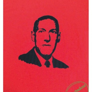 H.P. Lovecraft T-Shirt Che Style Red