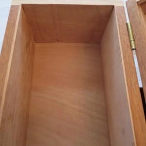 Mahogany, Ash, and Hard Maple Box