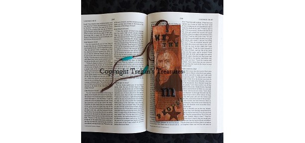 James Madison Mini Mixed Media Art & Bookmark