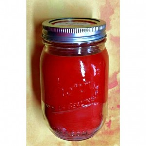 Mango Dragon Fruit Candle - Soy Wax - Mason Jar - 14 oz