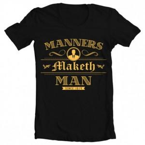 "Men's Kingsman ""Manners Maketh Man"" Tee"