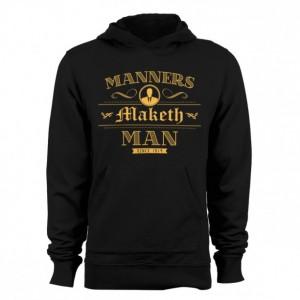 "Men's Kingsman ""Manners Maketh Man"" Hoodie"