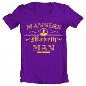 "Girls' Kingsman ""Manners Maketh Man"" Tee"