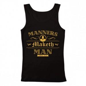 "Men's Kingsman ""Manners Maketh Man"" Tank Top"