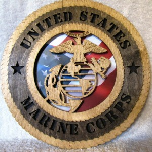 Marine Corps Wall Plaque