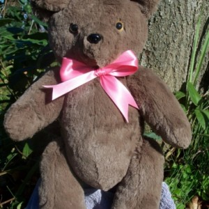 Merlena Bear - custom handmade teddy bear