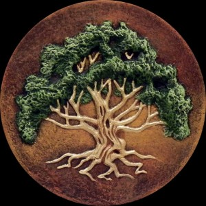 The Meeting Tree - Hand Made Cast Paper By Kevin Dyer - Celtic Spreading Oak