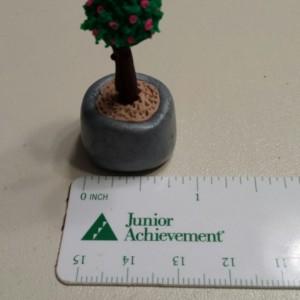Miniature Dollhouse Clay Flower Arrangements
