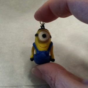 Popular Despicable Me Clay Minion Charm Necklace