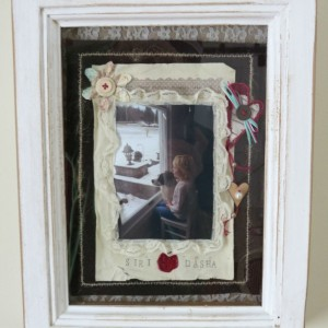 Hand-Crafted, Custom Memory Wall Art / Collage, Made With Antique Barn Wood Frame