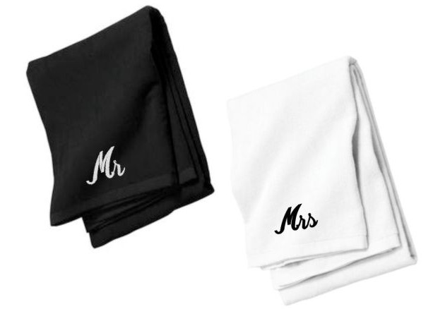 Wedding Gift Towels: Couples Gifts, Beach Towels, Personalized Wedding Gifts