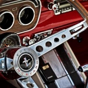 Classic Ford Mustang - 8 x 12 Print