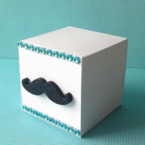 Mustache Favor Boxes