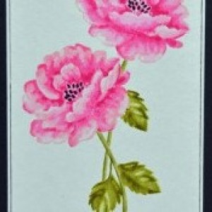 Beautiful Rose (set of two cards)