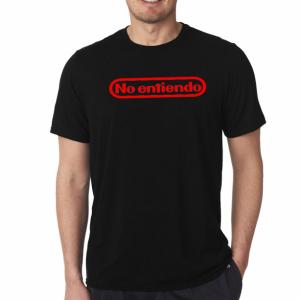 Nintendo Geek T-Shirt (Spanish Parody)