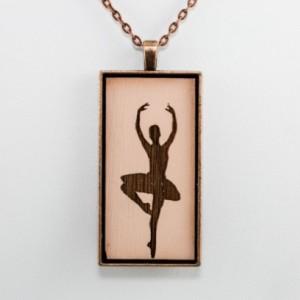 Cameo Pendant - Ballerina (Pale Pink)