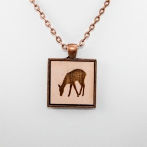 Cameo Pendant - Doe (Pale Pink)