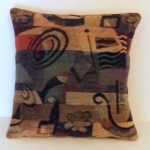 TWO 18X18 ART DECO PILLOW COVERS