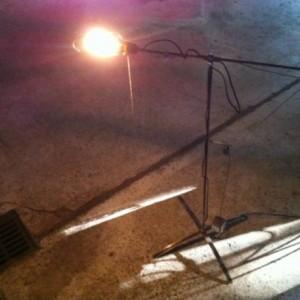 Machine Age Inspired Floor Lamp