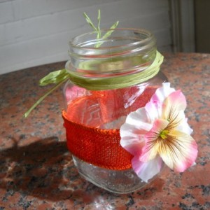 Decorative Mason Jar Vases