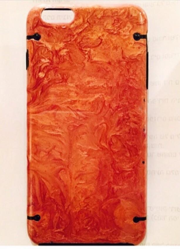 Orange Marble case