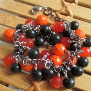 Orange Black Bracelet