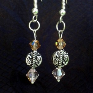 Paisley Bead Earrings *30% off* (Was $15)