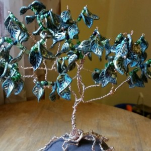 Wire Wrap Tree Sculpture