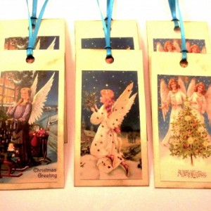 Victorian Angel Gift Tags - Set of 12