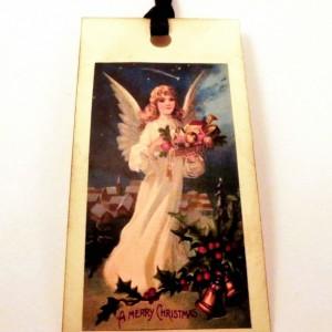Christmas Angel Tags - Set of 12