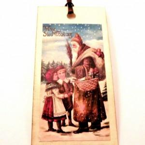 St. Nicolas Gift Tags - Set of 12