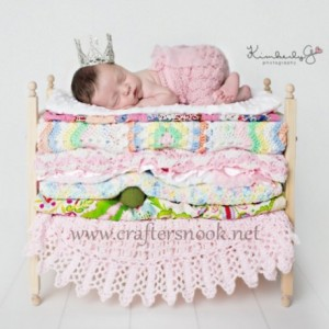 Princess and the Pea Newborn Twins Photography Prop Posing Bunk Beds Foam Mattresses - DIY Stackable Bunk Bed with Ladder