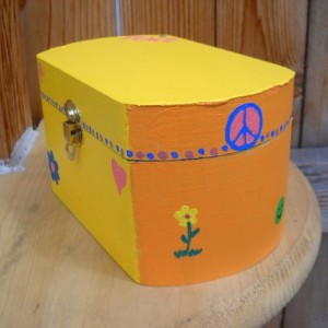 Wooden Peace Box