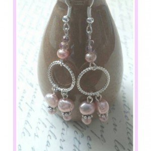 Handcrafted Fresh Water Pearl Drop Earrings