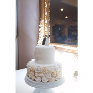 Wedding Peg Dolls Cake Topper